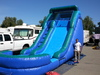 17' Blue Water Slide