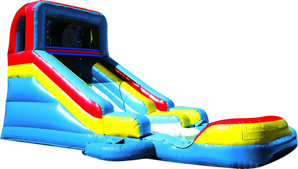 Slide And Splash Water Slide