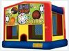 Standard Bounce House With Interchangeable Themes