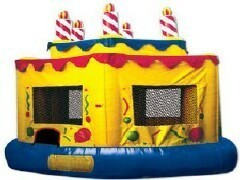 Birthday Cake Bounce House