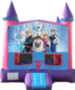 Pink Castle Bounce House (Interchangeable Themes)